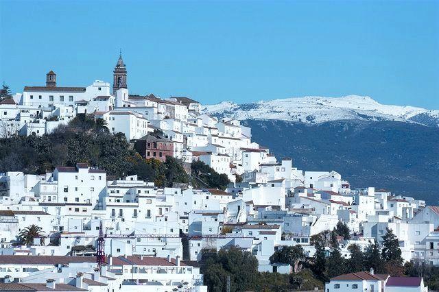 Vista de Alcalá de los Gazules en Cádiz