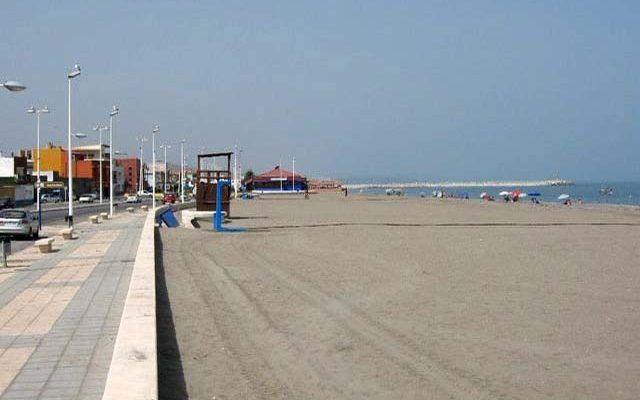 Playa de Levante in La Linea