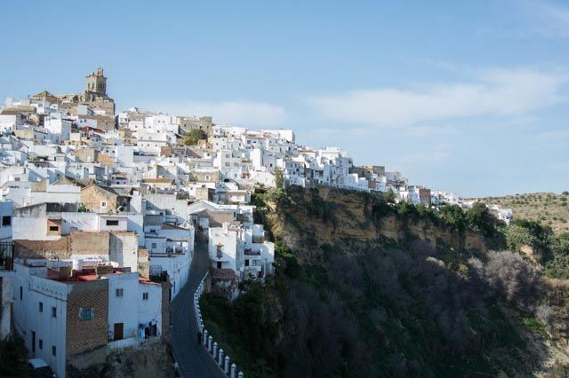 Arcos is a beautiful white town in the province of Cádiz. You will love the views from above!