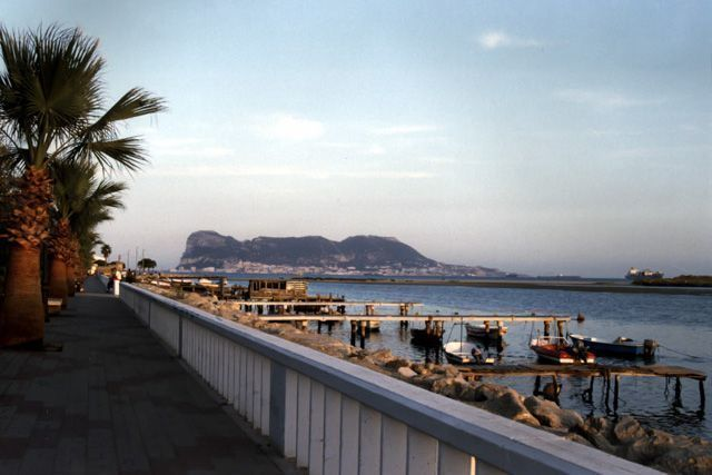 You can see the Rock of Gibraltar from here!