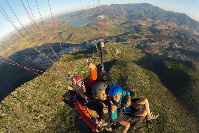 Paragliding is one of the most fun activities you can do while in Algodonales.