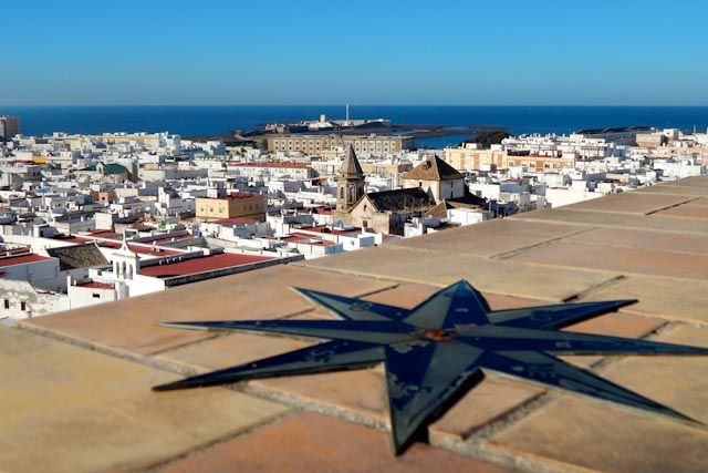 Tavira Tower is one of the best buildings from where to enjoy the most stunning views of Cádiz.