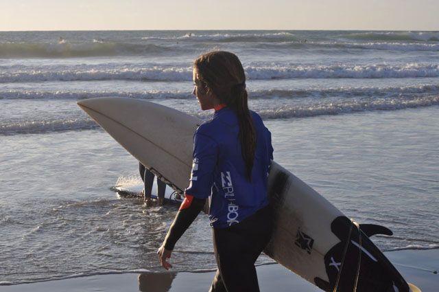 Surfcamp organizado por las bicis naranjas, cadiz surf center y amazeiin Cadiz