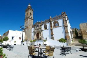 La vista de Medina Bodas en Andalucia. Zona de Ceremonia.