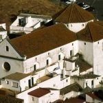Vista aérea de la Iglesia de San Francisco en Alcalá