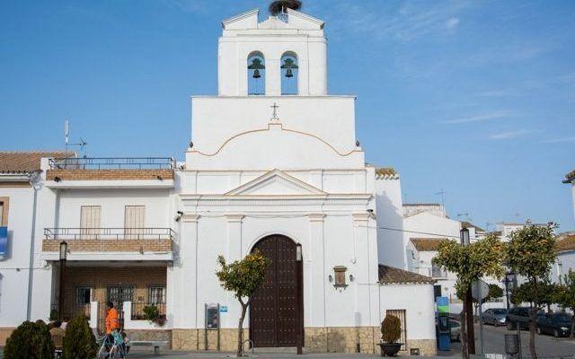 Santa Maria de Guadalupe Parish Church in Algar