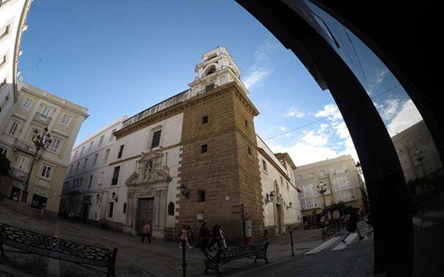 Church of San Agustin in Cadiz