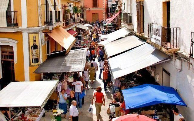 Sanlucar de Barrameda Market