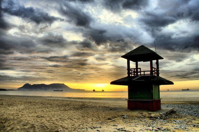 Playa de Getares en Algeciras