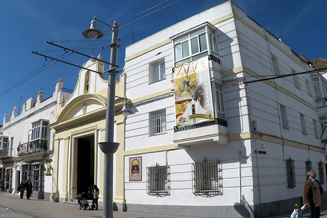 Church of San Francisco in San Fernando