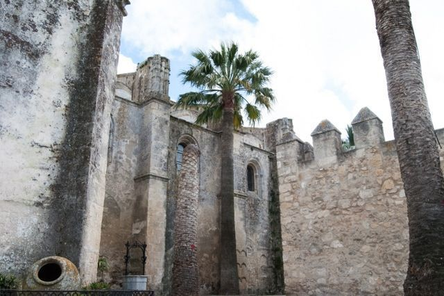 The Castle of Vejer de la Frontera combines Muslim and Christian elements.