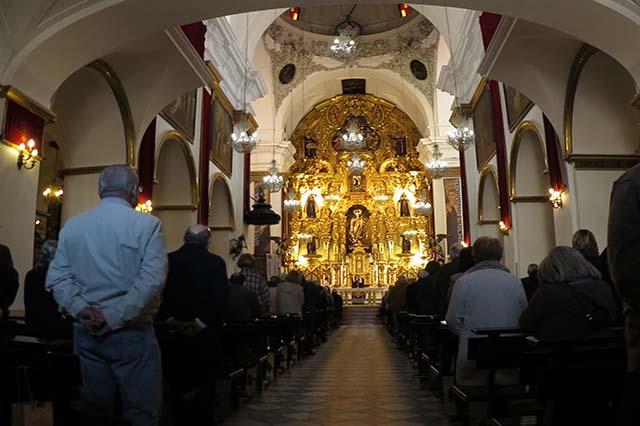 Churches hide many treasures inside.