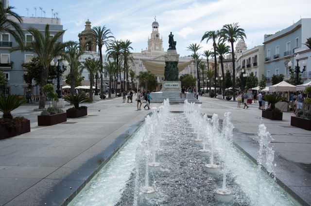 San Juan de Dios Square is one of the most representative squares in Cádiz. This is the square who welcomes