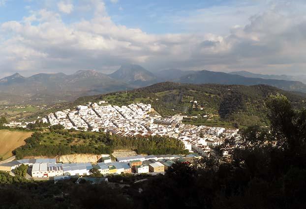 Prado del Rey is a beautiful white town in the province of Cádiz.