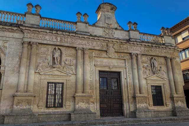 Main façade of the Townhall of Jerez
