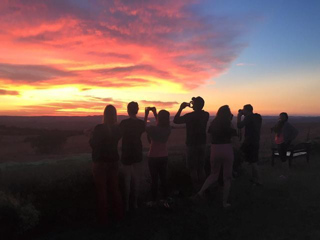 You will witness the most beautiful sunsets ever in Villamartín.