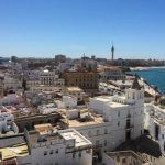 Cadiz is so beautiful from above that you will surely fall in love with the views!