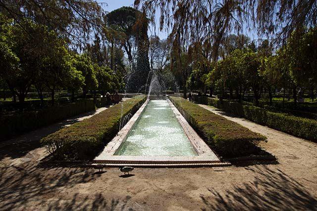 Fuente Parque Maria Luisa Sevilla