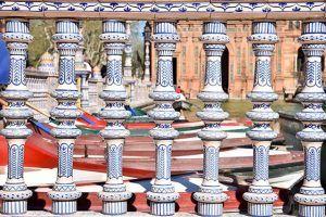 detalle Plaza España Sevilla