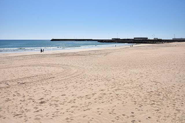 parte de la playa barbate